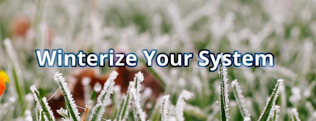 Sprinkler Systems in Indianapolis Winterization