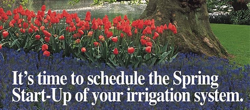 Get Your Sprinkler Spring Start Today!